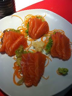 mangiare sushi a pisa