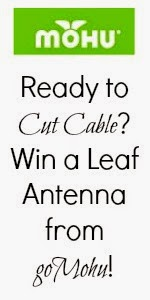 Enter the goMohu Leaf Antenna Giveaway. Ends 4/30