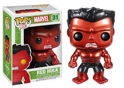 San Diego Comic-Con 2013 Exclusive Metallic Red Hulk Marvel Pop! Vinyl Figure by Funko