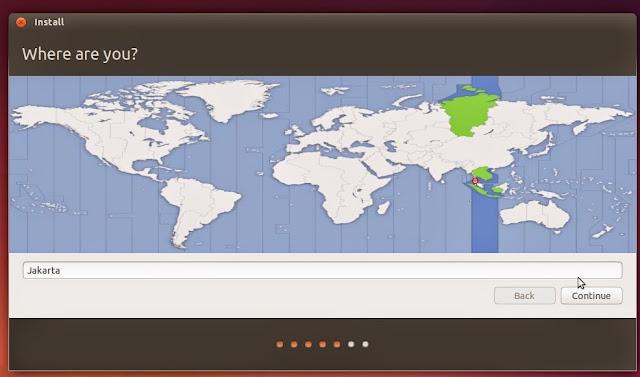 Cara Instal Ubuntu