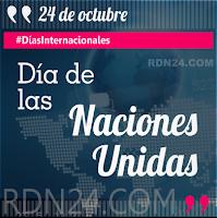 Día de las Naciones Unidas #DíasInternacionales