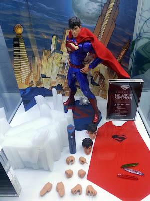 Play Imaginative Super Alloy DC Comics New 52 1/6 Scale Superman Figure