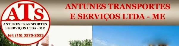 ANTUNES  PREPARO DE SOLO  CARREGAMENTO MECANIZADO DE  LARANJAS E CANA DE AÇÚCAR  Rua: Padre Inácio de A Ferreira 231 Vila Orestes - Itapetininga - SP tel: (15) 3275-2513  e-mail: antunestransporte@hotmail.com