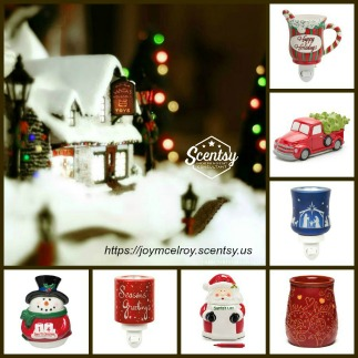 New Scentsy warmers and fragrances for Christmas!