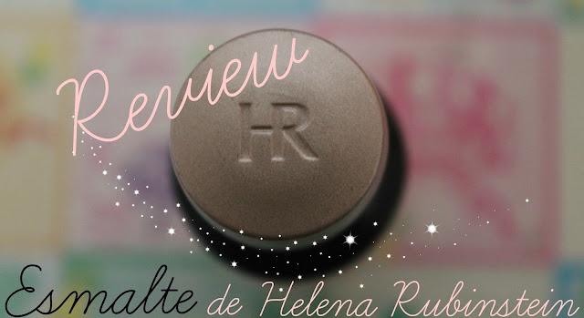 Review del esmalte de Helena rubinstein