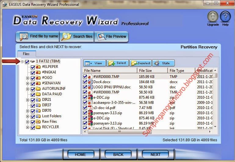 mengembalikan data memori card yang terhapus dengan mudah