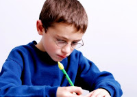 NAMC Montessori elementary teacher tips inspiring following the child boy writing