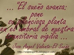 Jose Ángel Valente, El sueño