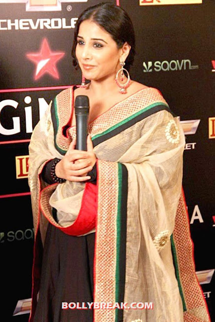 Vidya balan in her classic look