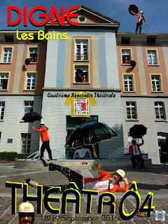 Affiche ThéâtrÔ4 2015
