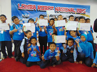 Lagi! SDMT Juara 1 Robotika Nasional