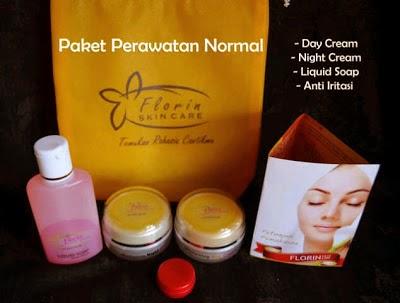 Florin Skin Paket Normal Untuk Perawatan Wajah-Pemutih Wajah