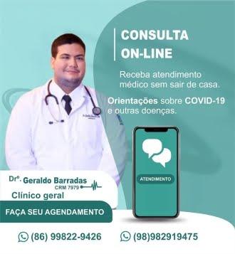 Dr. Geraldo Barradas - Clínico Geral