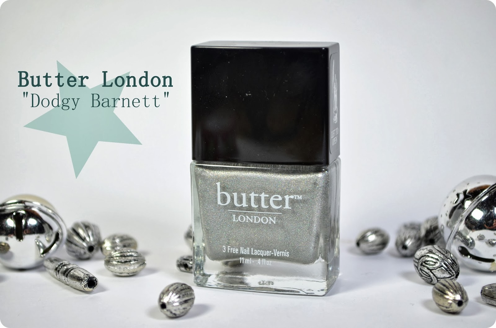 Glossybox Golden Box 2013 Butter London DODGY BARNETT