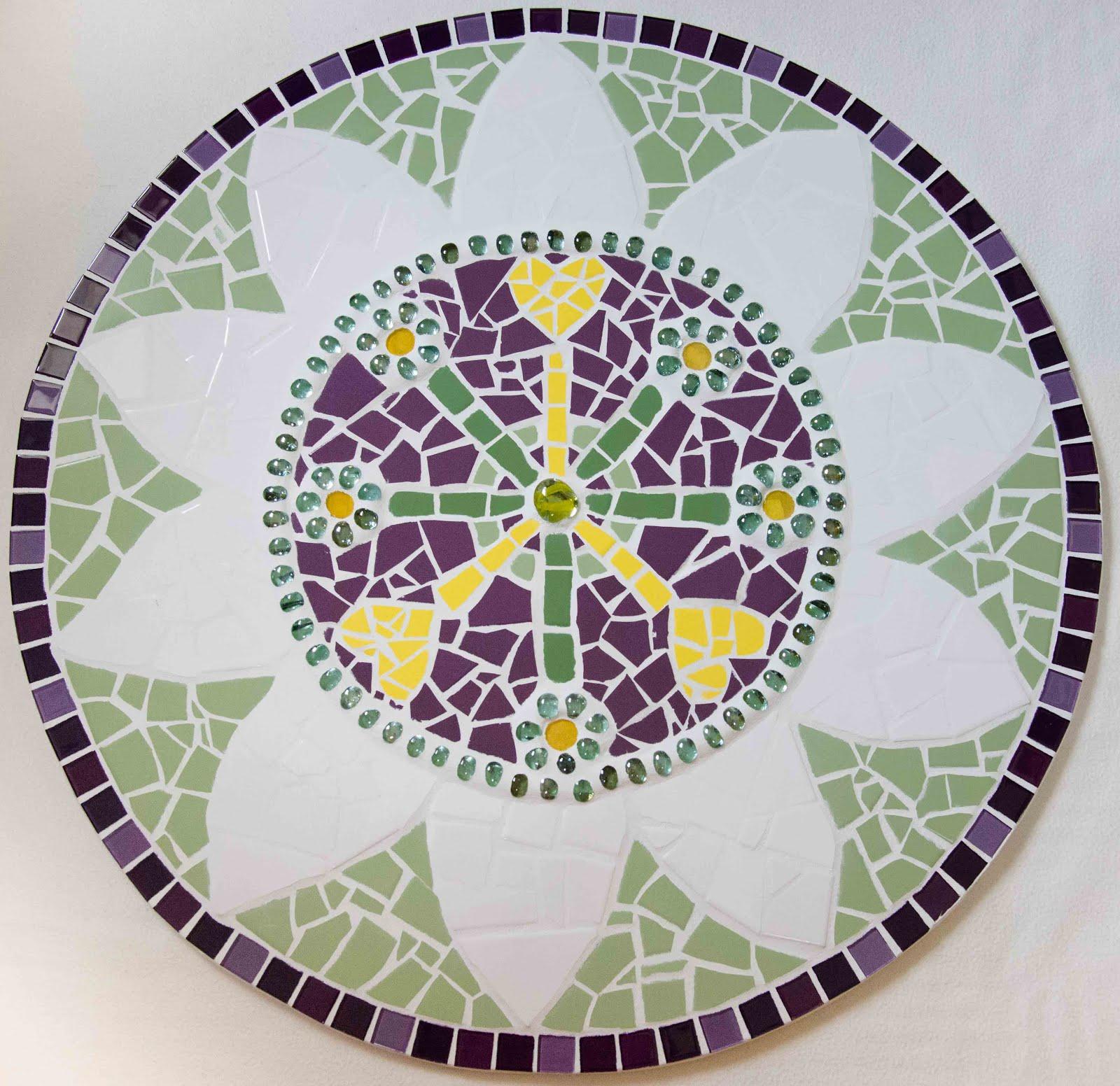 Mandala Flor de Maracujá