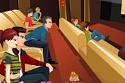 Sinemada Öpüşme Oyunu