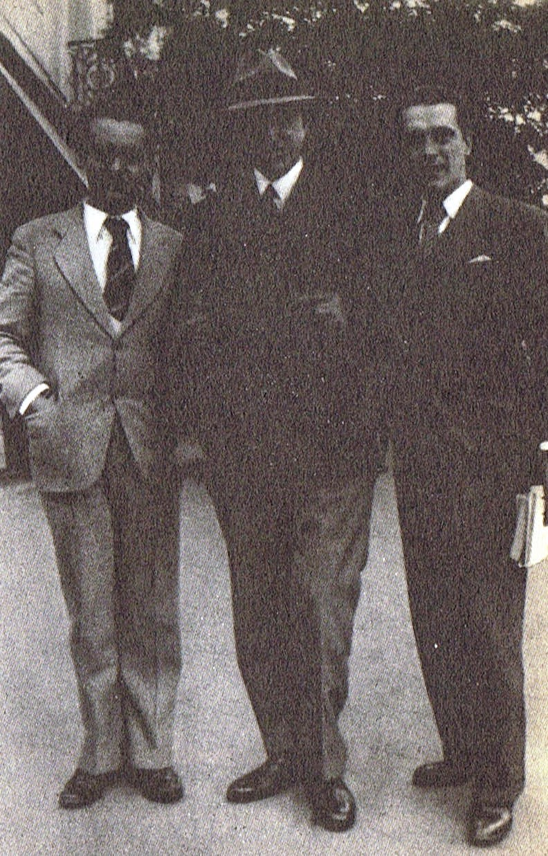 Lorca con Salinas y Alberti