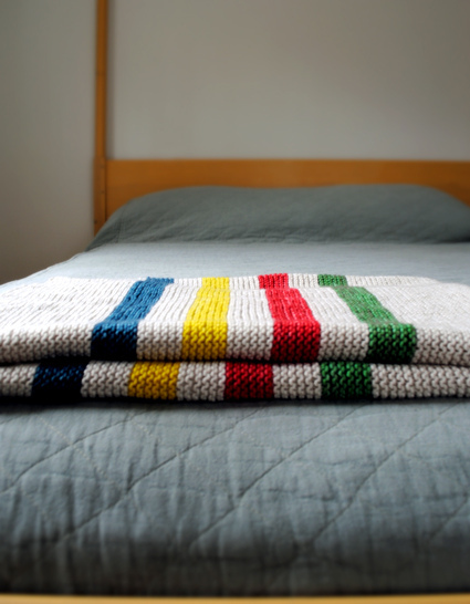 Knit And Purl Stitch Baby Blanket : easy and free: simply beautiful baby blankets to knit - Knitionary