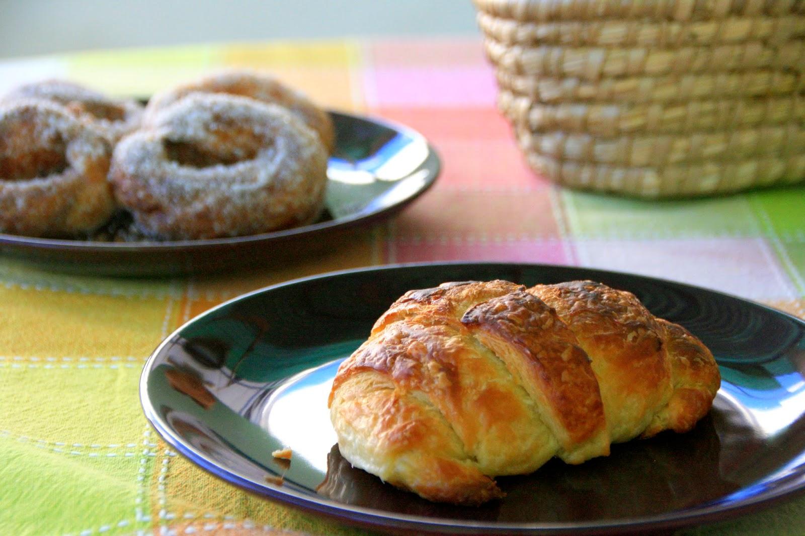 Recepta de cronut i croissant