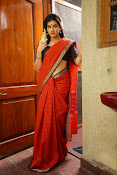 Archana veda in red saree photos-thumbnail-11