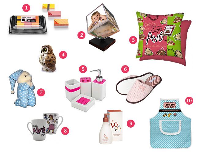 Populares Lista 01: Presentes para avó ~ Embalaço JY13