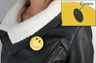 Chapa Smiley espia