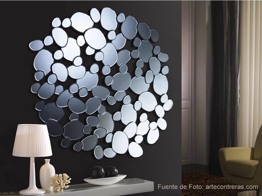 Espacio reservado para ti reflejos de luz - Espejos decorativos pared ...