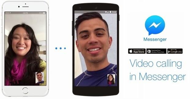 """فيسبوك """"Messenger"""" يتيح إجراء مكالمات بالفيديو"""