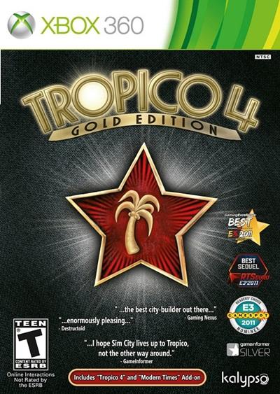 Tropico 4 Gold Edition Xbox 360 Región Free Español 2012