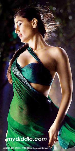 Kareena Kapoor Hot Saree Wallpaper in BodyGuard - Kareena Kapoor Hot Saree Wallpapers