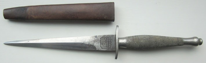 Hearts and Daggers: 1st pattern Fairbairn Sykes type 3