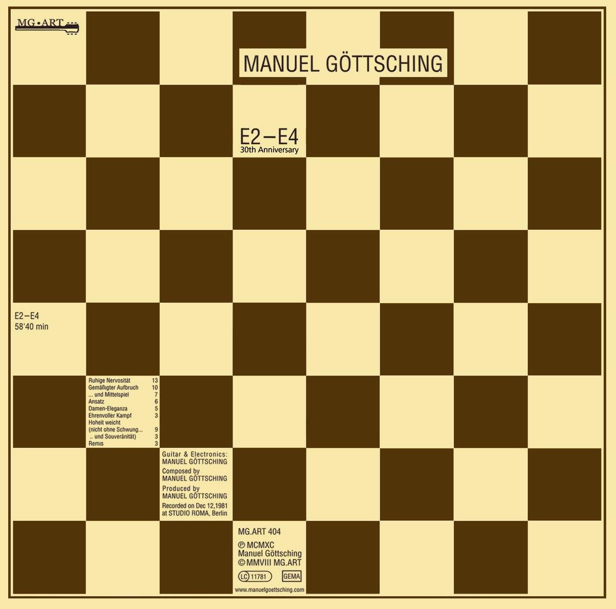 Manuel Göttsching – E2-E4 (1984) / source : MG.ART www.ashra.com
