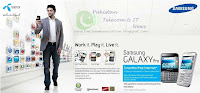 Telenor Galaxy Pro samsung Pakistan