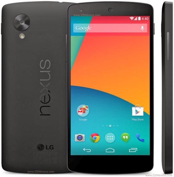 smartphone terbaik Google Nexus 5
