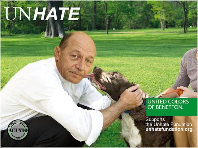 Funny photo Traian Basescu Unhate