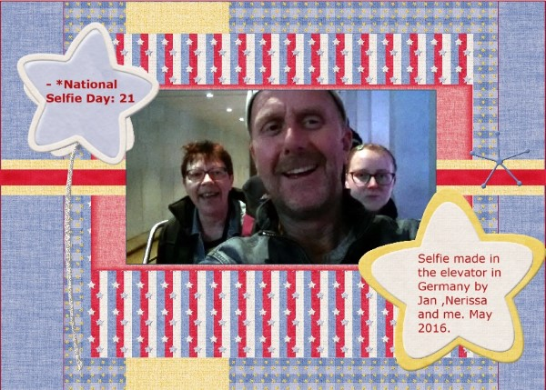 June 2016- Us -Selfie day