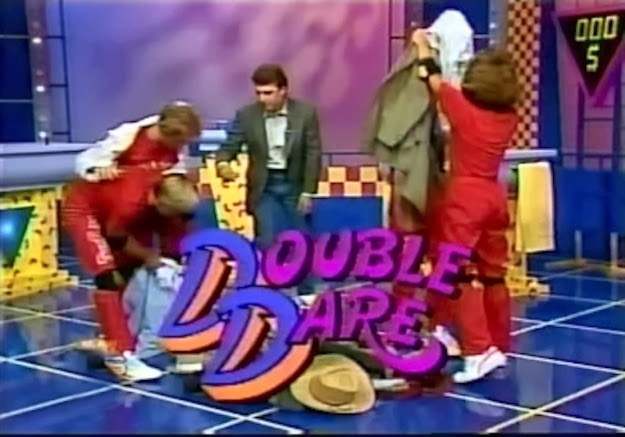 The feeling that you could totally beat the obstacle course on Double Dare