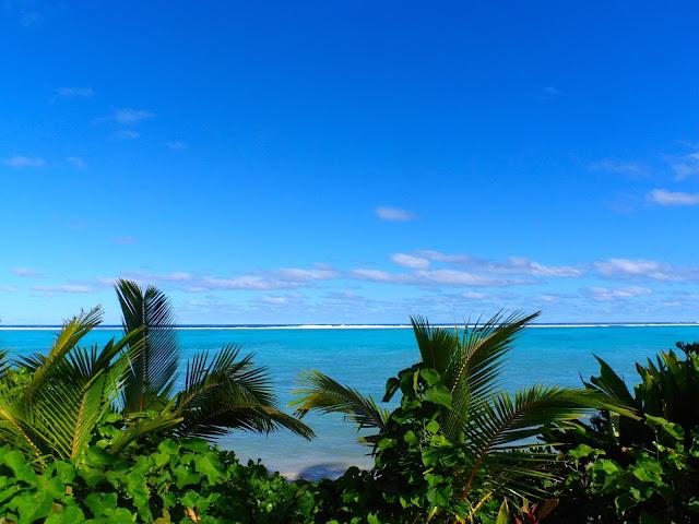 Sea scape in Rarotonga