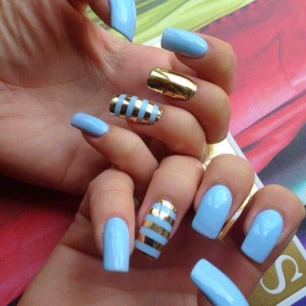 Mixed Nails Designs