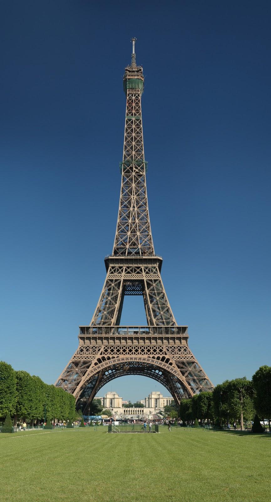 3contheweb la tour eiffel pr sentation et histoire - La dame de fer tour eiffel ...
