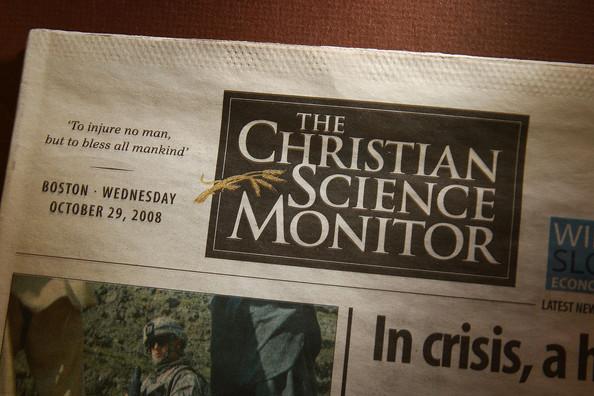 Christian Science Monitor uma publicação sem sensacionalismo