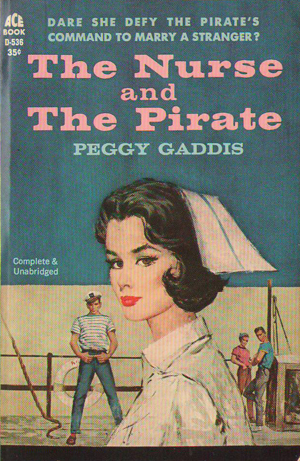 Romance Book Cover Illustration : Vintage nurse romance novels the and pirate