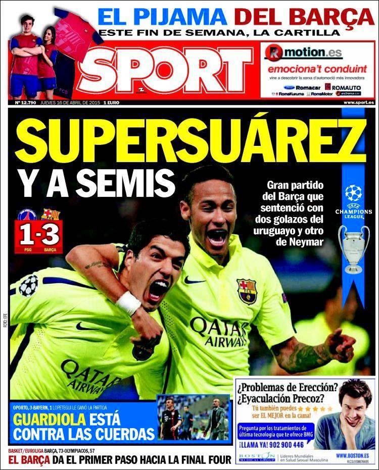 Luis Suárez en portada