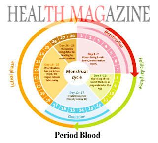 Period Blood Colors and Textures Facts
