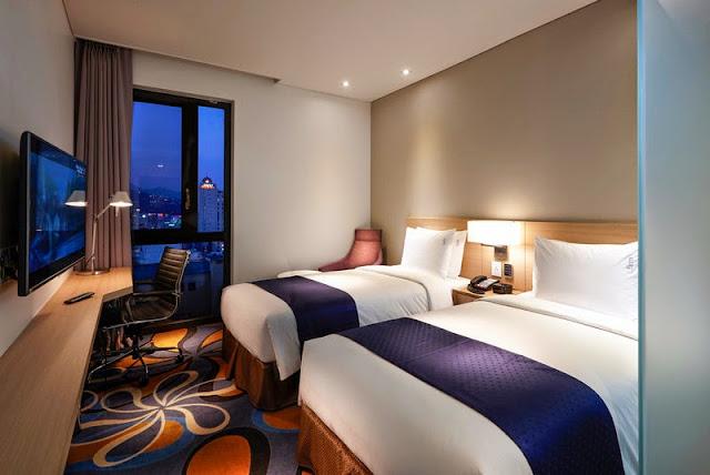 首爾乙支路假日酒店 - 標準雙床房