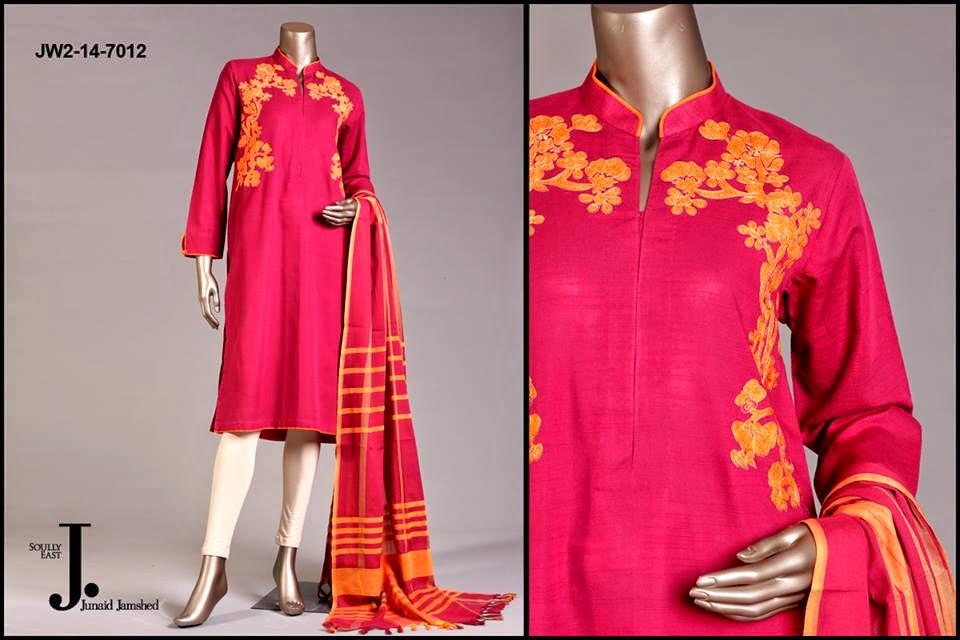Pret Wear Dresses 2014-2015 by Junaid Jamshad
