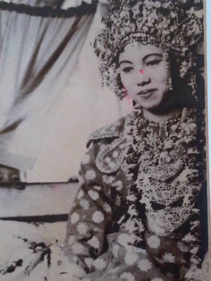 Tua & Tradisionil Nusantara: Pengantin wanita 1958, Baturaja. Sumsel ...