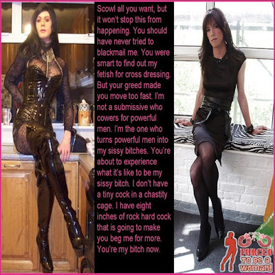 Blackmail fails Dream TG Caption - sissy crossdressing tales