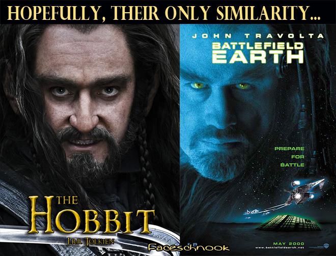 Faceschnook The Hobbit Poster Looks Like Battlefield Earth