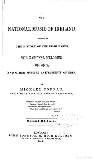 national music of Ireland